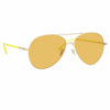 Linda Farrow 963 C11 Aviator Sunglasses