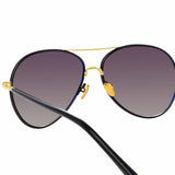Linda Farrow 963 C1 Aviator Sunglasses