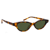 Linda Farrow Alessandra C2 Cat Eye Sunglasses