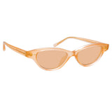 Linda Farrow Alessandra C5 Cat Eye Sunglasses