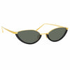Linda Farrow 967 C1 Cat Eye Sunglasses