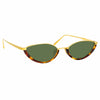 Linda Farrow Daisy C2 Cat Eye Sunglasses