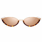 Linda Farrow Daisy C4 Cat Eye Sunglasses