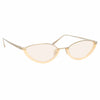 Linda Farrow Daisy C5 Cat Eye Sunglasses