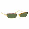 Linda Farrow 968 C2 Rectangular Sunglasses