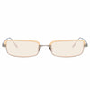 Linda Farrow 968 C5 Rectangular Sunglasses