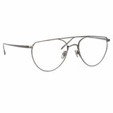 Linda Farrow 974 C4 Aviator Optical Frame