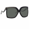 Linda Farrow 981 C1 Oversized Sunglasses