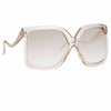 Linda Farrow Dare C3 Oversized Sunglasses