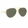 Linda Farrow 992 C1 Aviator Sunglasses