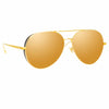 Linda Farrow 992 C2 Aviator Sunglasses