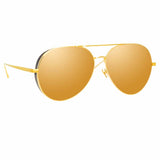 Linda Farrow Ace C2 Aviator Sunglasses