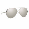 Linda Farrow Ace C3 Aviator Sunglasses