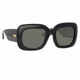Linda Farrow 995 C1 Rectangular Sunglasses