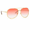 Matthew Williamson 222 C10 Aviator Sunglasses
