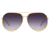 Matthew Williamson 222 C1 Aviator Sunglasses