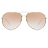 Matthew Williamson 222 C2 Aviator Sunglasses
