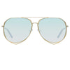 Matthew Williamson 222 C3 Aviator Sunglasses