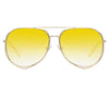 Matthew Williamson 222 C6 Aviator Sunglasses