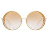 Matthew Williamson Blossom C2 Round Sunglasses