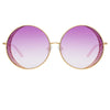 Matthew Williamson 226 C5 Round Sunglasses