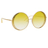 Matthew Williamson Blossom C6 Round Sunglasses