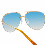 Matthew Williamson 240 C3 Aviator Sunglasses