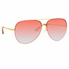 Matthew Williamson 240 C4 Aviator Sunglasses
