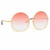 Matthew Williamson Freesia C4 Oversized Sunglasses