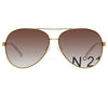 N°21 S40 C2 Aviator Sunglasses