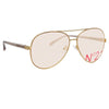 N°21 S40 C4 Aviator Sunglasses