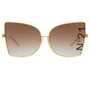 N°21 S41 C2 Cat Eye Sunglasses