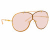 N°21 S53 C3 Aviator Sunglasses