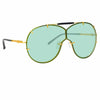 N°21 S53 C5 Aviator Sunglasses