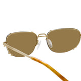 Y/Project 2 C3 Aviator Sunglasses