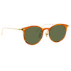 Linda Farrow Linear 03 C13 D-Frame Sunglasses