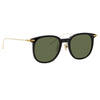 Linda Farrow Linear 04A C8 Square Sunglasses