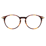 Linda Farrow Linear Chevron C3 Oval Optical Frame