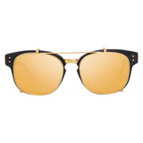Linda Farrow 584 C1 Rectangular Sunglasses
