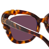 Linda Farrow Salma C2 Cat Eye Sunglasses