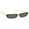 Linda Farrow Issa C1 Rectangular Sunglasses