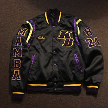 Load image into Gallery viewer, Kobe 'BLACK MAMBA' Varsity Jacket