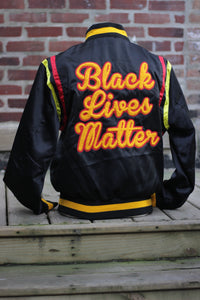 Black Lives Matter Varsity Jacket