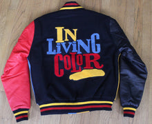 Load image into Gallery viewer, In Living Color Varsity Jacket