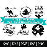 A WHOLE NEW WORLD SVG BUNDLE - ALADDIN SVG FILES