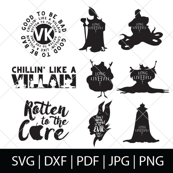 DESCENDANTS SVG BUNDLE