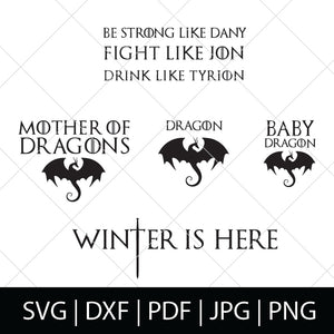 GAME OF THRONES SVG BUNDLE