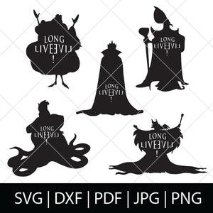 LONG LIVE EVIL SVG BUNDLE - DESCENDANTS SVG FILES