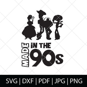 MADE IN THE 90s - TOY STORY SVG FILE