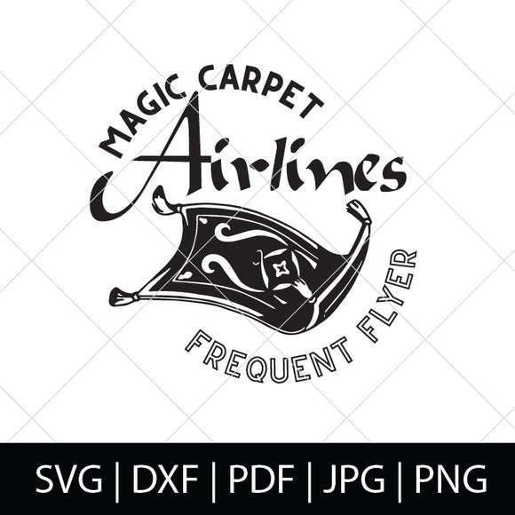 MAGIC CARPET AIRLINES - ALADDIN SVG FILE